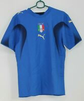 Italy Italia Blue Soccer Jersey Puma Neil Barrett Football Men's Size XS T Shirt
