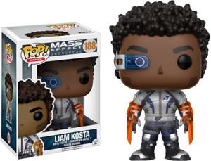 Funko POP! Mass Effect #188 Liam Kosta [In Pop Protector] *Brand New*