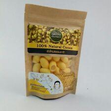 PHUTAWAN Organic Natural Gold Silk Cocoon for Cleanser facial Massage & Scrub