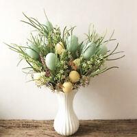 Easter Ei Baum Zweig Künstliche Blume Pick Ast Bouquet DIY Ostern Ornament Dekor