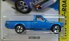 (4)RARE Blue variation Hot Wheels Datsun 620 pickup KMART exclusive VHTF