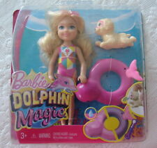 Barbie Dolphin Magic Chelsea Doll New In Package & Accessories 2016