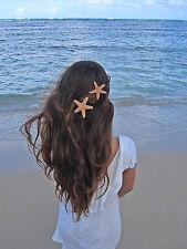 Set of 2 Starfish Mermaid Ariel Hair Clip