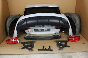 Audi RS4 8K Facelift Heckstoßstange Heckklappe Heckleuchten Rückfahrkamera LY7F