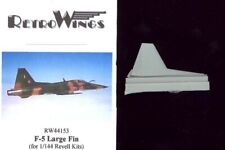 RetroKits Models 1/144 NORTHROP F-5 LARGE FIN Resin Conversion Kit