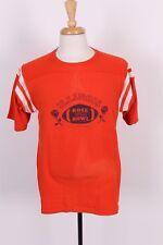 Vtg 1984 University Of Illinois Football Rose Bowl 50/50 Jersey T-Shirt Sz Large