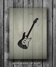 A5 Guitarra Mylar reutilizable Plantilla Aerógrafo Pintura Arte Arte hágalo usted mismo Home Deco