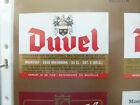VINTAGE BELGIUM BEER LABEL. MOORTGAT BREWERY - DUVEL 33 CL