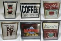 Special Moments Wall Art Coffee Collection 6 Different Variations with sizes