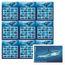 USPS New Sharks Press Sheet with Die Cuts