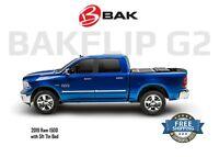 Bakflip G2 Tri Fold Tonneau Cover 2019 Dodge Ram 1500 5ft 7in Bed w/o Ram Box