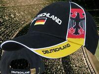 "Deutschland Kappe B ""ADLER"" 1  + neu + Fan WM 2018 Cap  NEUWARE 100 % Baumwolle"