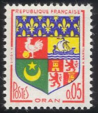 France 1960 French Towns Coats-of-Arms/Heraldry/Ship/Cockerel/Lions 1v (n45281)