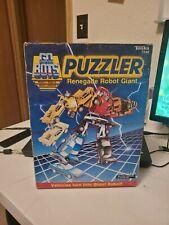 Tonka GoBots Vintage Puzzler Renegade Robot Giant Set w/ Box 1985  - Preowned