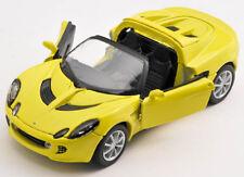 BLITZ VERSAND Lotus Elise 111s 2003 gelb / yellow Welly Modell Auto 1:34 NEU OVP