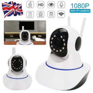 HD 1080P Wireless WIFI IP CCTV Camera Smart Home Security Night Vision Indoor