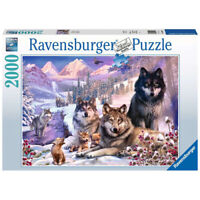 Ravensburger 2000 Piece Puzzle Wolves in the Snow Jigsaw Wintery Scene Ages 12+