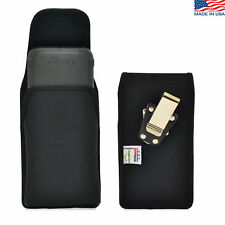 Turtleback Samsung Galaxy S6 Nylon Pouch Holster Metal Belt Clip Fits Supcase