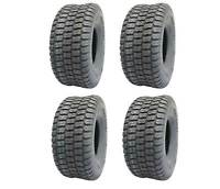 Lot of 4, Deli 15x6.00-6, Turf Master Tread, 4 Ply, Tubeless, Lawn Mower Tires