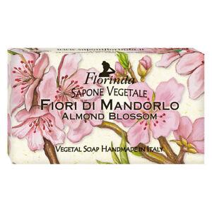 Florinda Floral Air Almond Blossom Vegetal Soap Bar 100g 3.5oz
