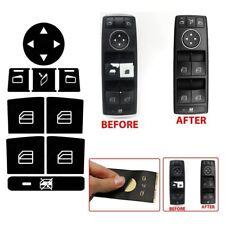 For Mercedes Benz W204 C250 C300 C350 Button Repair Window Decals Stickers TW