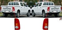 Per Toyota Hilux 05-12 Nuovo Posteriore Faro Coppia Set Guida a Sinistra = Rhd