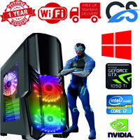ULTRA FAST Gaming PC Intel Core i7 2nd Gen 16GB RAM 1TB 240GB SSD 4GB GTX1050Ti