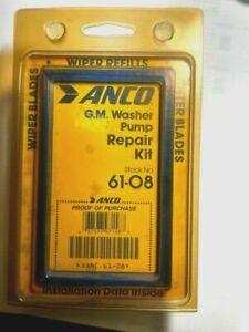 NOS ANCO 61-08 Washer Pump Repair Kit CHEVROLET-GMC TRUCK-CADILLAC-GM-1962-89