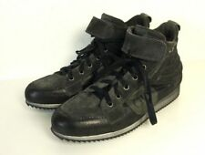DONNA CAROLINA Sneaker Keil - Turnschuhe Wedges High Top Grau Gr. 40 (SR20)