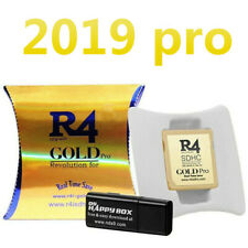 2019 R4 Gold Pro SDHC for DS/3DS/2DS/ Revolution Cartridge With Card reader