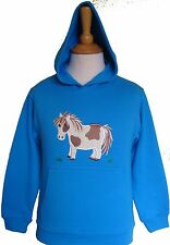 Child's hoody with horse (skewbald) image