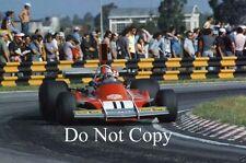 Clay Regazzoni Ferrari 312 B3 Argentine Grand Prix 1974 Photograph