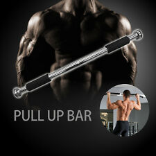 Portable Chin Up Bar Home Doorway Wall Mounted Pull Up Gym Abs Exercise
