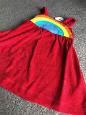 Little Bird by gioielli Oliver ROSSO in spugna RAINBOW DRESS 3-4 anni