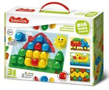 Mosaic Set For Baby Shapes Colors Logic Mosaics Puzzle Craft Kit Мозаика