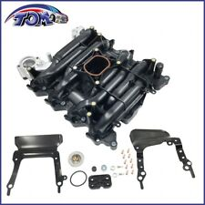 New Intake Manifold w/ Gasket Thermostat O-Rings For Ford Lincoln Mercury 4.6L