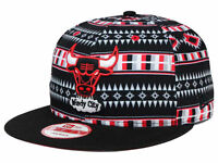 New Era Chicago Bulls 9FIFTY Snapback Cap - One Size Fits All - Adjustable Hat
