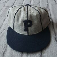 Portland Beavers 1911 Wool Strapback Hat by Ebbets Field Ballcap Made in USA