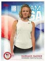 2016 Topps US Olympic Team USA Hopefuls #53 Margaux Isaksen  Modern Pentathlon