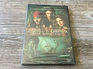 Pirates of the Caribbean : Dead Man's Chest DVD NEW Sealed Disney Movie
