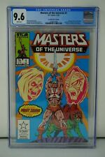 DC COMICS CGC 9.6 MASTERS OF THE UNIVERSE 1 12/82 WHITE PAGES