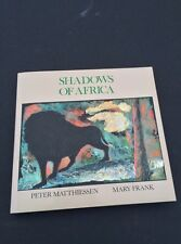 Original Hand Signed Art Book By Sculptor Mary Frank. Shadows Of Africa 1992