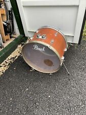 """More details for free p&p. 22"""" bass drum. natural finish. 22x14"""" bd109075"""
