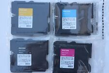Ricoh Genuine 4PCS GC21KMYC Print Ink cartridge for GX7000/GX5000/GX5050/GX3000