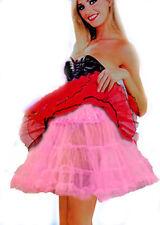Femmes 50 S Rose Tutu Jupon Noël Jupon Rockabilly Rétro Jive 16 in (environ 40.64 cm) nouveau