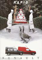Renault Rapid Prospekt 3/94 brochure 1994 Auto PKWs Autoprospekt Frankreich