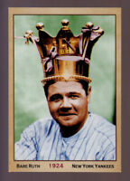 Babe Ruth '24 NY Yankees, Columbia print sample scarce only 100 exist 🔥