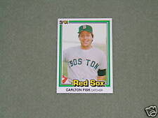 CARLTON FISK- DONRUSS Card- #335-1981