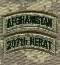 KANDAHAR-WHACKER© PRO-CLUB JSOC ANA NATIONAL ARMY TAB: AFG + 207th Corps HERAT