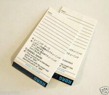 Korg ROM & RAM Card Blank Inserts, Fits Cases Perfectly, Genuine Vintage Korg